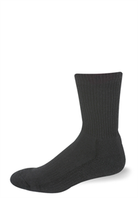 Pro Feet, Inc. - 3005 Heavy Weight Cushioned Crew Sock, Combat and Tactical, Military and Public Safety, Acrylic, Nylon and Elastic